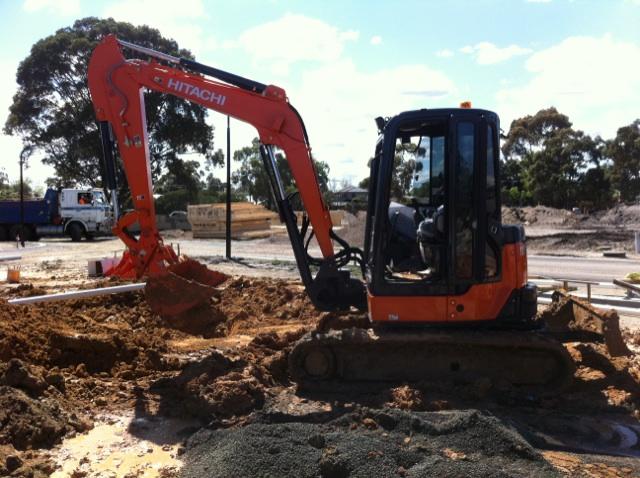 Excavation Work - 3 Tonne & 5 Tonne